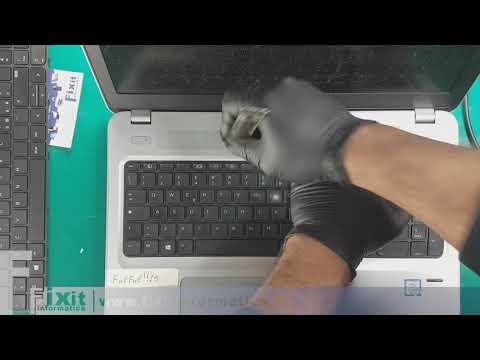 HP ProBook 450 G4 sostituzione tastiera - Keyboard Replacement