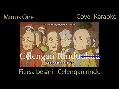 LIRIK Fiersa Besari - Celengan Rindu Cover Karaoke (Minus One)