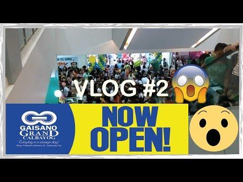 Calbayog City | Grand Gaisano Mall |Samar| VLOG #2 2017
