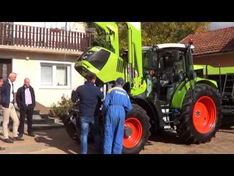 Farma Holjevac nabavila nove strojeve/Snimio Marko Čuljat Lika press Gospić