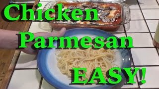 Chicken Parmesan ( Easy Dinner!)