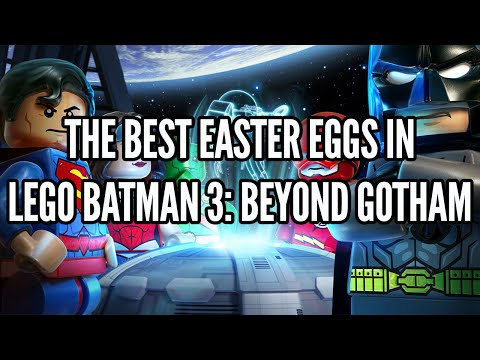 The Best Easter Eggs In Lego Batman 3: Beyond Gotham