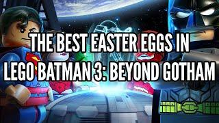 The Best Easter Eggs In Lego Batman 3: Beyond Gotham