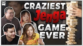 THE CRAZIEST JENGA GAME ft. POKIMANE, LILYPICHU, SCARRA, FEDMYSTER, ALBERT & MORE