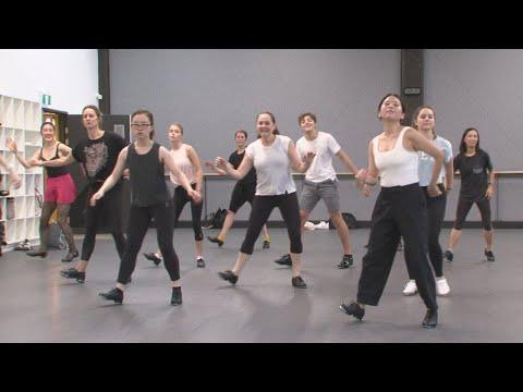"""Uptown Funk"" Tap Routine Sydney Dance Company Studios"