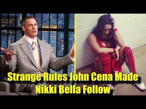10 STRANGE Rules John Cena Made Nikki Bella FOLLOW!
