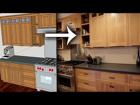 DIY Kitchen Cabinets Ep 2 – Making Plans from SketchUp