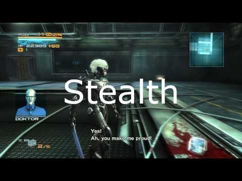 Stealth in Metal Gear Rising