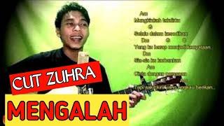 cut zuhra - mengalah - chord gitar dan lirik lagu (tandha tanya)