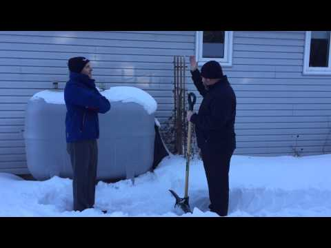 Fuel Line Freeze Up - Protecting Your Outdoor Fuel Oil Tank in the Winter