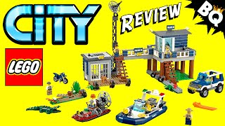 Lego City Swamp Police Station 60069 Review