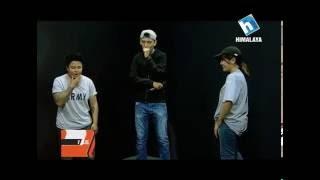 RAP Battle - Nattu VS Lhakyila (V BLOG, THE EVENING SHOW @S!X)