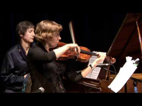 """Suite For Violin & Piano"" Performed By Susan C. Brown & Josephine Gandolfi"