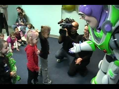 Toy Story 3 On Ice visits Warren Village - Buzz Lightyear