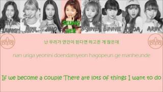 "OH MY GIRL 오마이걸 ""I Found Love"" Lyrics (Color Coded+Han+Rom+Eng)"