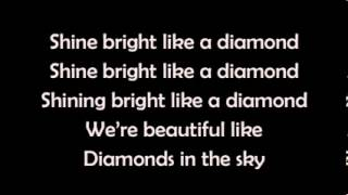 Rihanna - Diamonds [MP3 Download + LYRICS] + FREE OFCOURSE [Mediafire]