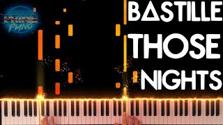 Bastille - Those Nights Piano Version | PrimePiano