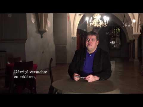 Born in 1906. Dārziņš. Ivanovs - interview Andris Poga (German subtitles)