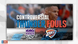 Every Controversial Calls Against the Thunder in the Final Frame vs Kings   February 23rd, 2019