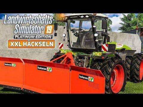 LS19 Platinum: Das MAISHÄCKSELN Mit 9 Abfahrern! I Farming Simulator 19 Platinum Edition