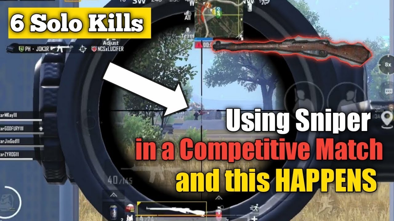 Download Using Sniper in a Competitive Match and this HAPPENS • ZyroJayyy • StarEsport • Zj111 •PUBG Pakistan