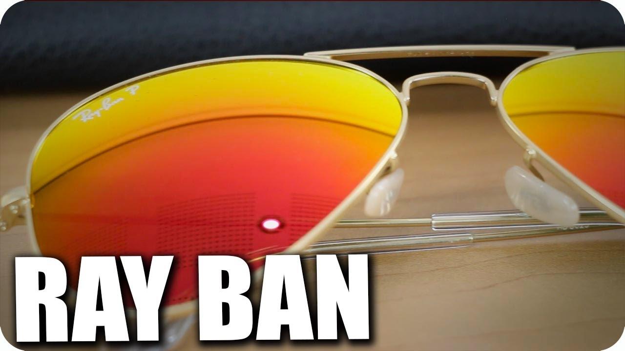 lentes para sol polarizados ray ban