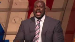 Shaquille O'neal on TNT describing the sound made when a shot is ma...