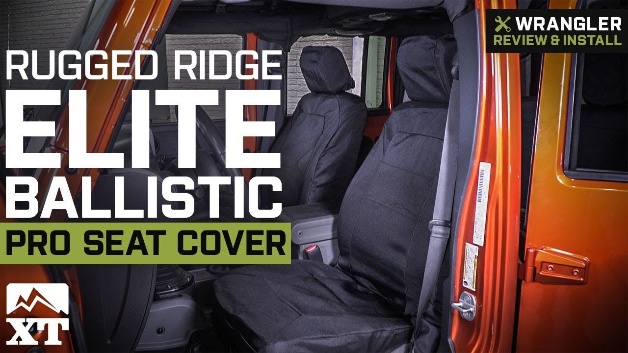 Jeep Wrangler Rugged Ridge Elite Ballistic Pro Seat Cover 2011 2018
