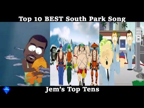 Top 10 BEST South Park Songs
