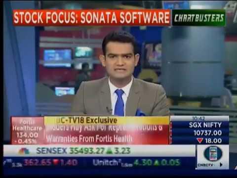 Sonata Software's CFO, Prasanna Oke interviewed by CNBC TV 18 on FY19 Plans