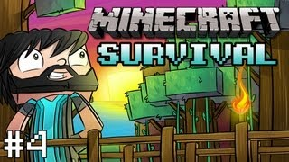 Minecraft: Survival - Ep. 4 - Building Out My House