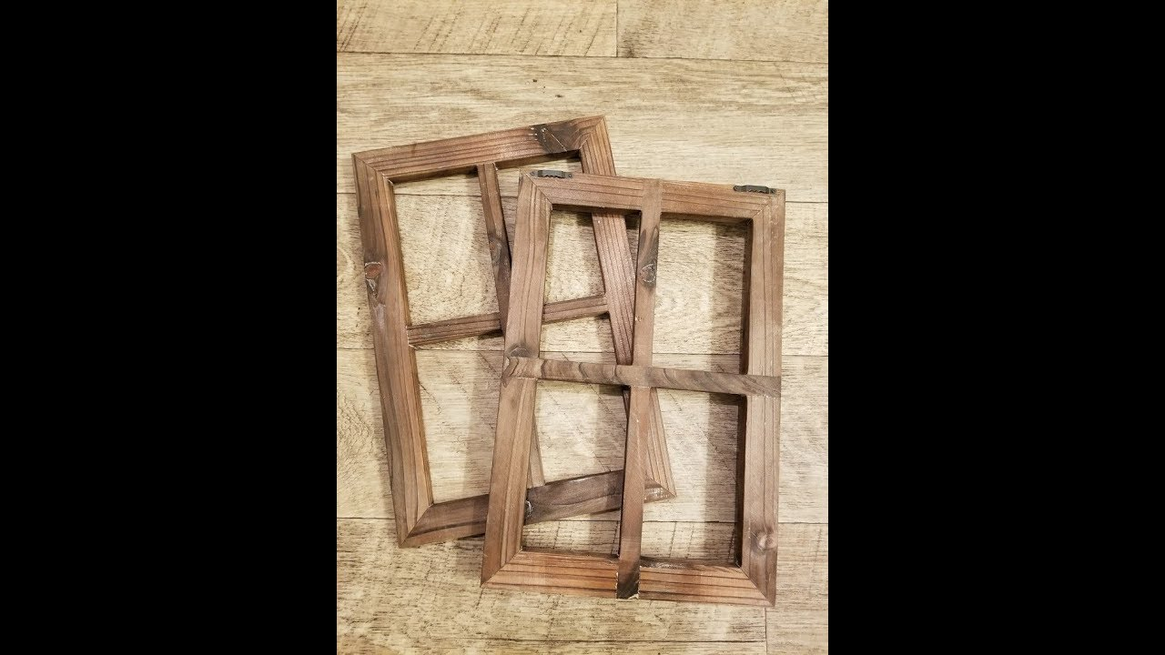 Cade Old Rustic Window Barnwood Frames -Decoration for Home or ...