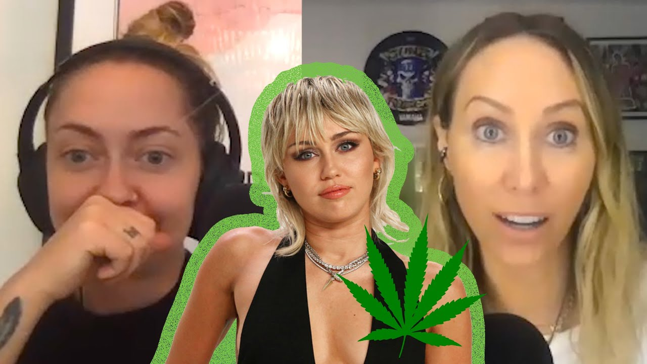 How Miley Cyrus Got Her Mom Tish to Smoke Weed for the First Time