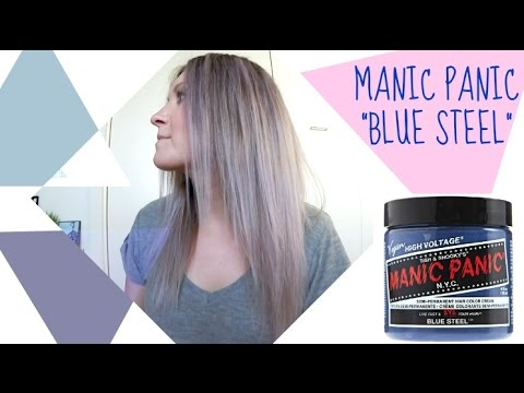 Manic Panic Blue Steel Review Demo YouTube
