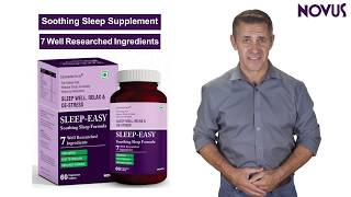 The sleep easy formula starts with melatonin to help reset your body's natural cycle and a blend of calming herbs (including extracts valerian root,...