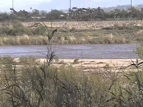 Santa Clara River After National Weather Service Issued A Flash Flood Warning Part 1 of 2