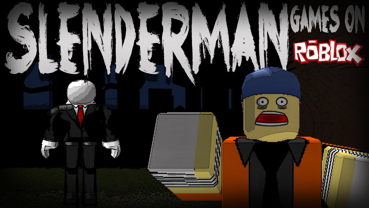 how to make a slender man game on roblox