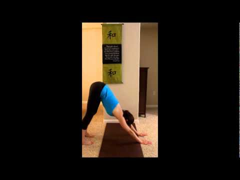 kneeling sun salutation  youtube