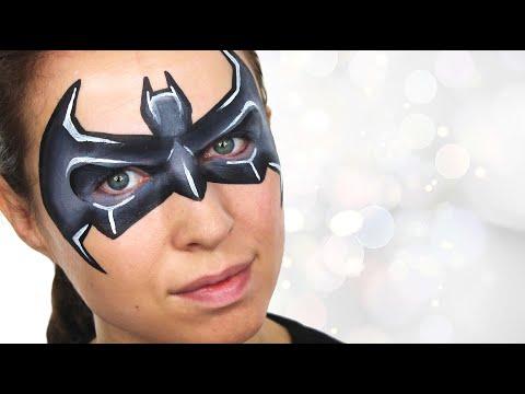 Batman Face Paint | Ashlea Henson