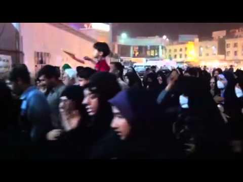Shia pilgrims at Imam Husayn shrine in Karbala Iraq