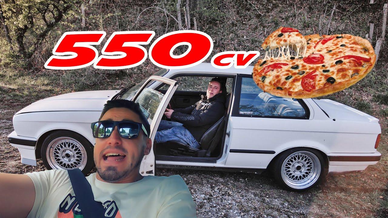 On sort la E30 de 550cv pour aller manger une pizza