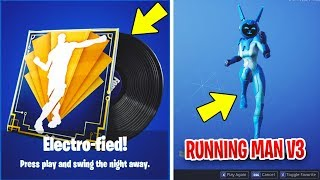 'NEW' Leaked MAN V3 Emote, ELECTRO-FIED Music Pack - Fortnite V8.40 Mise à jour