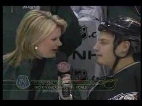 Ryan Getzlaf Young Stars Interview Jan 23, 2007
