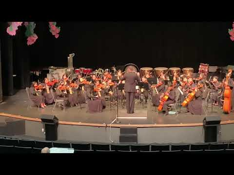 Morrill Middle School Anaheim Trip Orchestra Performance