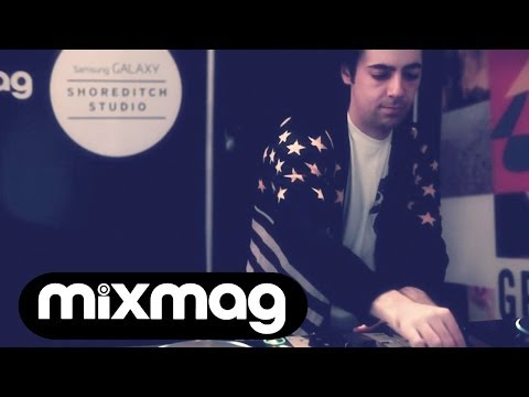 High Contrast and Jimmy Edgar house, techno and d'n'b live stream
