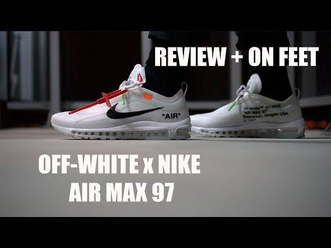 Off White x Nike Air max 97 OG Nouveau Chaussures de