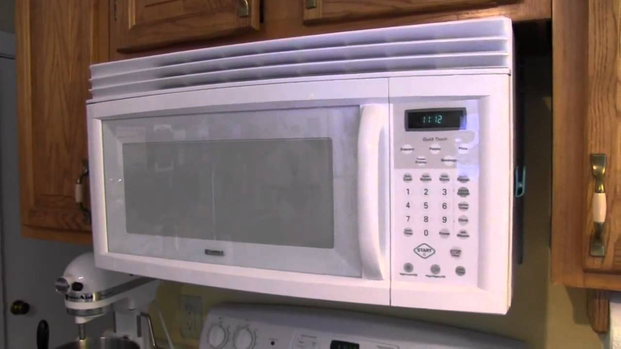 kenmore over the range microwave oven 721 80402400 review