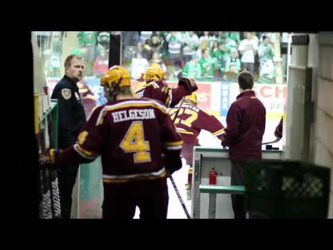 "Gopher Hockey: ""Power"" at North Dakota"