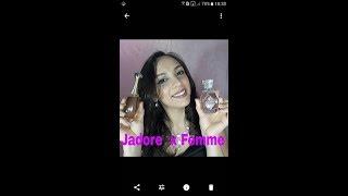 Jadore Dior e Femme avon COMPARATIVO
