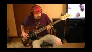Staind - Right Here Bass Cover